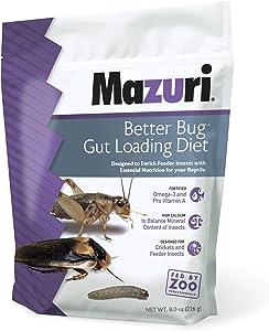 Mazuri   Better Bug Gut-Loading Cricket Diet   8 Ounce (8 OZ) Bag