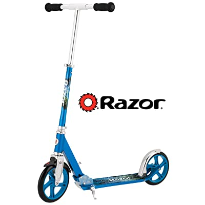 Razor A5 LUX Kick Scooter - Blue : Sports Kick Scooters : Sports & Outdoors