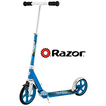 Razor A5 Lux – Patinete, color azul