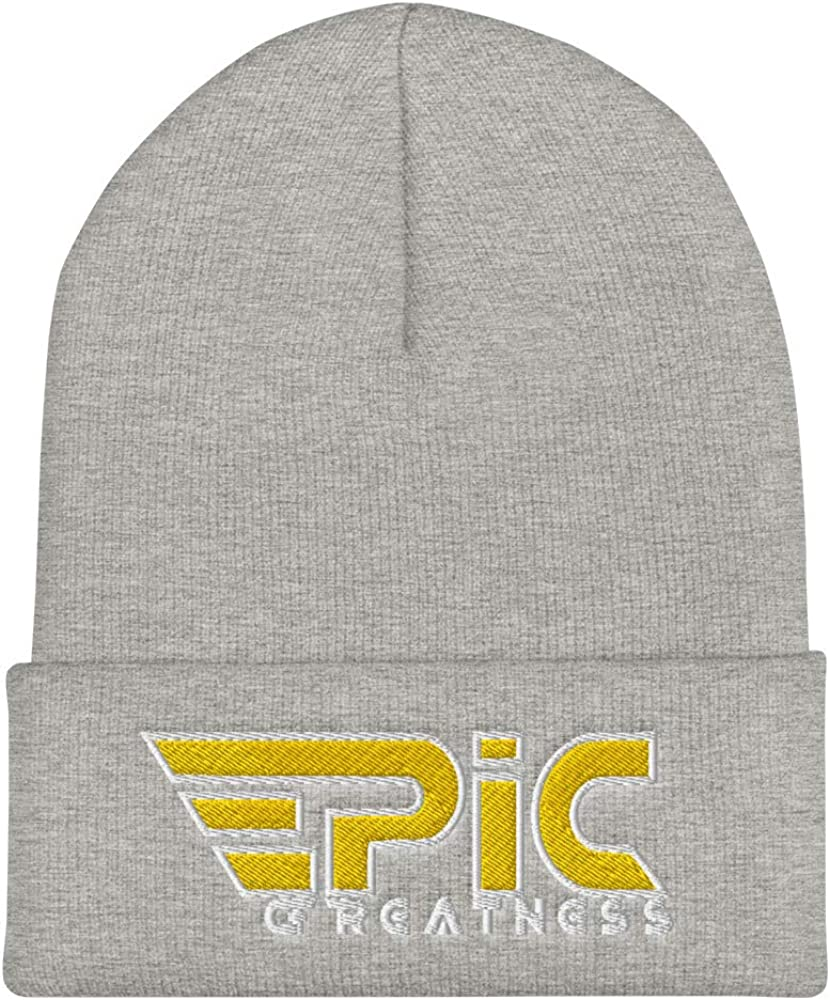 EPIC GREATNESS Cuffed Beanie Style 110