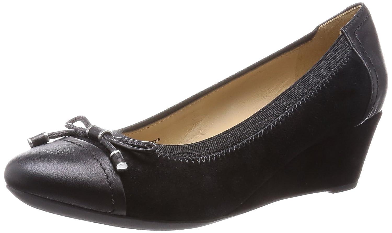 Geox Femme D54t4a021kf, Ballerines Femme Geox 40 EU|Noir (Blackc9999) 104502