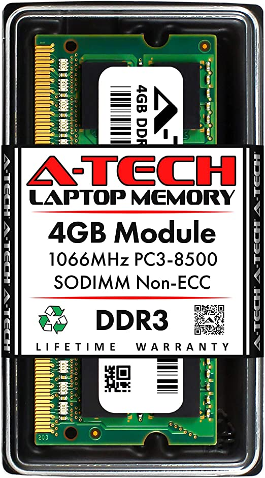 4GB DDR3-1066 PC3-8500 RAM Memory Upgrade for the Acer Aspire Timeline AS3810T-6376