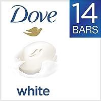 Amazon.com deals on Dove White Beauty Bar 4 oz, 14 Bar