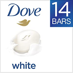 DoveWhite Beauty Bar 4 Ounce, 14 Count (Pack of 1)