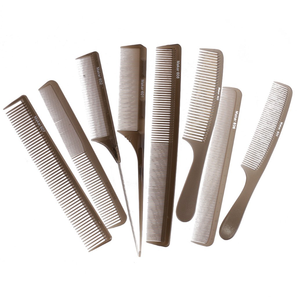 Professional Unisex Hair Styling Pin Comb Set Hairdressing Combs Kit for Salon Barbers Generic