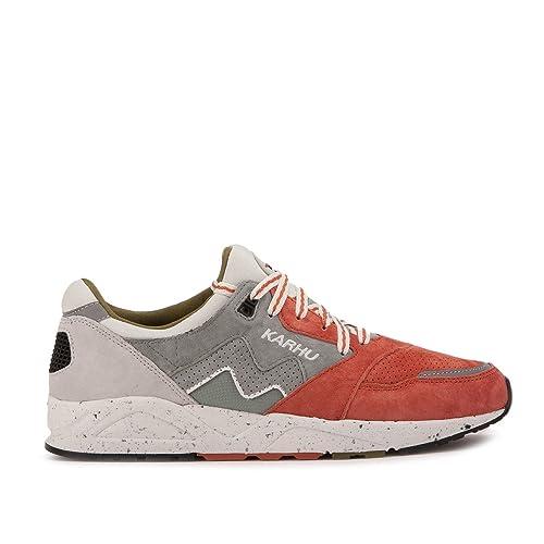 Karhu - Zapatillas de Piel para Hombre Rosa Salmón 42: Amazon.es: Zapatos y complementos