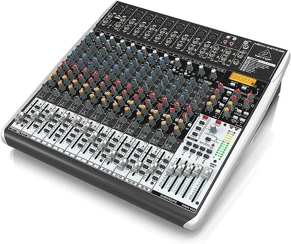 Behringer QX2442USB mezclador DJ: Amazon.es: Electrónica