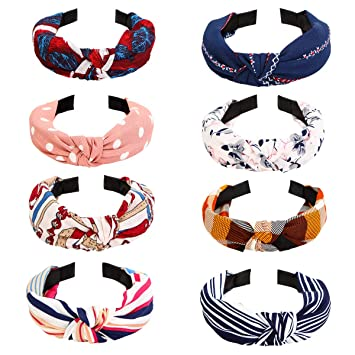 White Top Knot Headband  Headbands with buttons  Turban  Headbands for Mask Bridesmaid Gift  Yoga  Exercise  Women Headbands