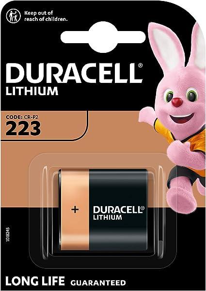 Duracell Ultra M3a Dl223 Alkaline 6 V Camera Battery Elektronik