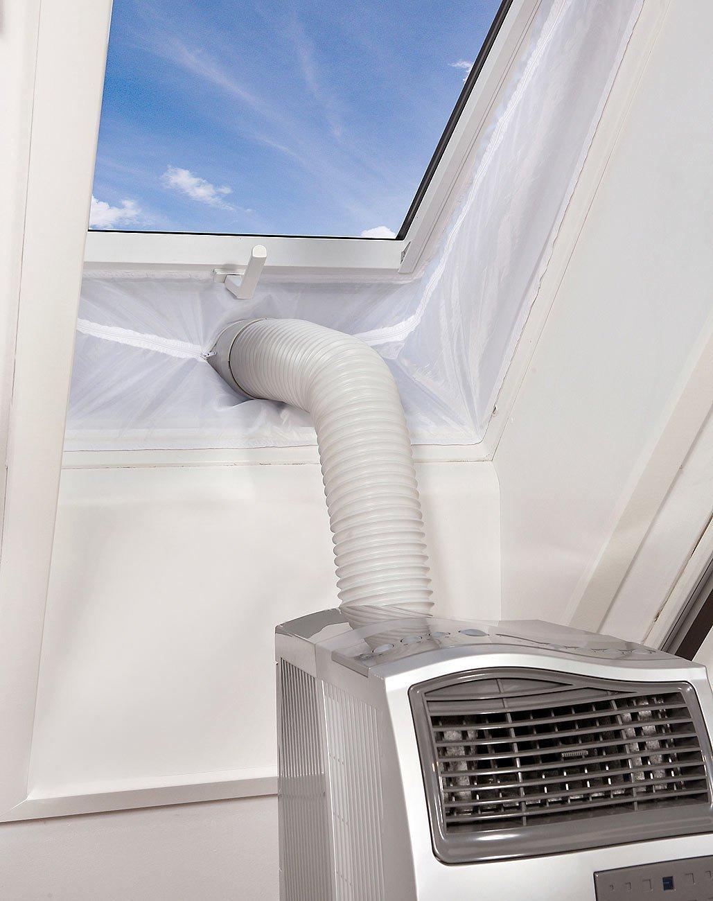 Fenster 560cm Dachfenster 560cm Hot Air Stop Yinong-eu Fensterabdichtung f/ür mobile Klimager/äte und Ablufttrockner Luftentfeuchter,AirLock F/ür Fenster Fl/ügelfenster