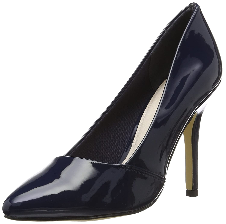 TALLA 37 EU. Bianco Basic Loafer Pump Djf16, Zapatos de Tacón Mujer
