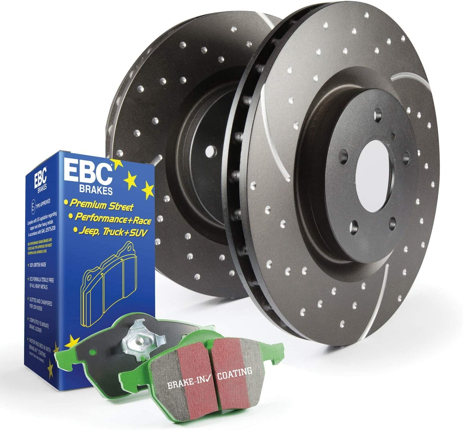 EBC S3KR1050 Stage-3 Truck and SUV Brake Kit