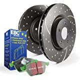 EBC Brakes GD7532 3GD Series Dimpled and Slotted Sport Rotor