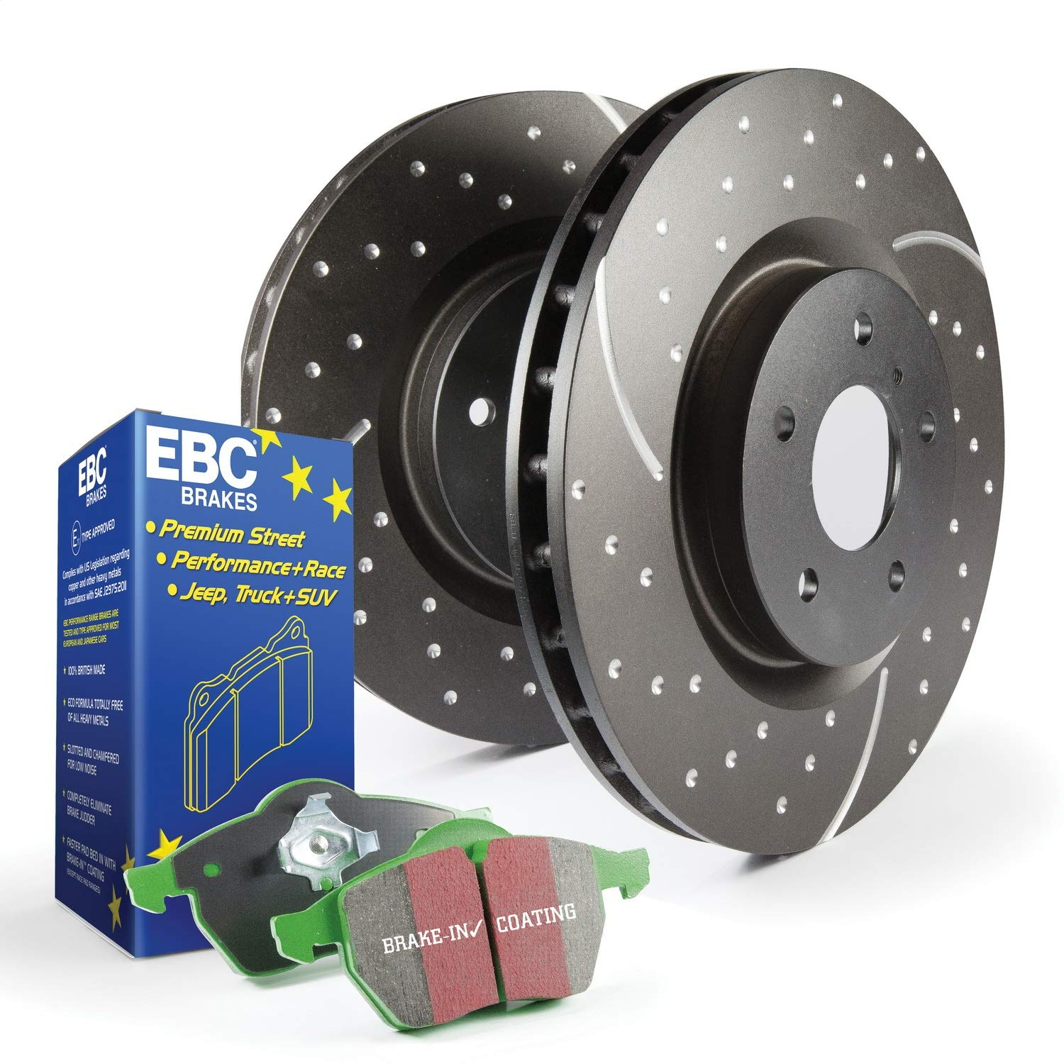 EBC S3KF1125 Stage-3 Truck and SUV Brake Kit by EBC