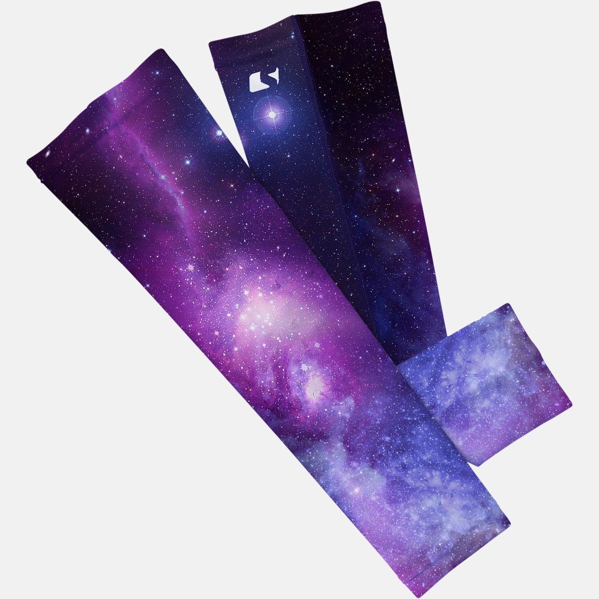 S//M, Nebula - Blue and Other Sports Sleefs Compression Arm Sleeves Provides Sun Protection and is Great for Basketball SLAM-GAL-S-M-1 Football Baseball Single Running