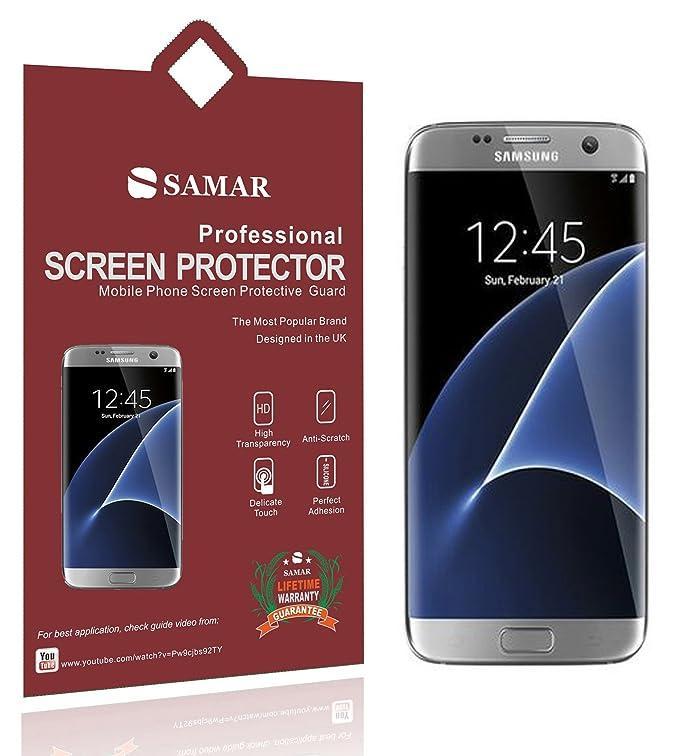 1 opinioni per Samar–Qualità premium {Full size} pellicole protettive trasparenti per Samsung