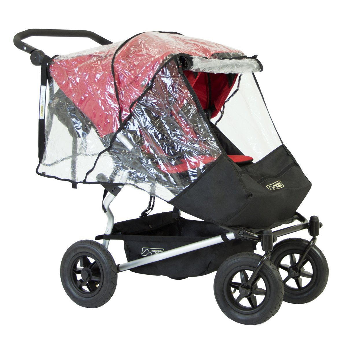 Mountain Buggy 2017 Duet Storm and Rain Cover for 2017 Duet Strollers New!!
