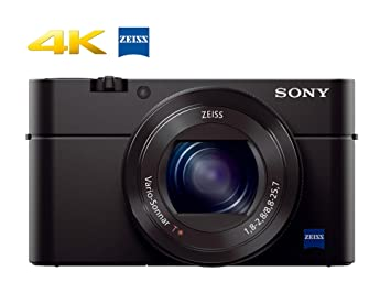 Sony RX100 IV 20 1 MP Premium Compact Digital Camera w/ 1-inch Sensor, 4K  Movies and 40x Super Slow Motion HD DSCRX100M4/B