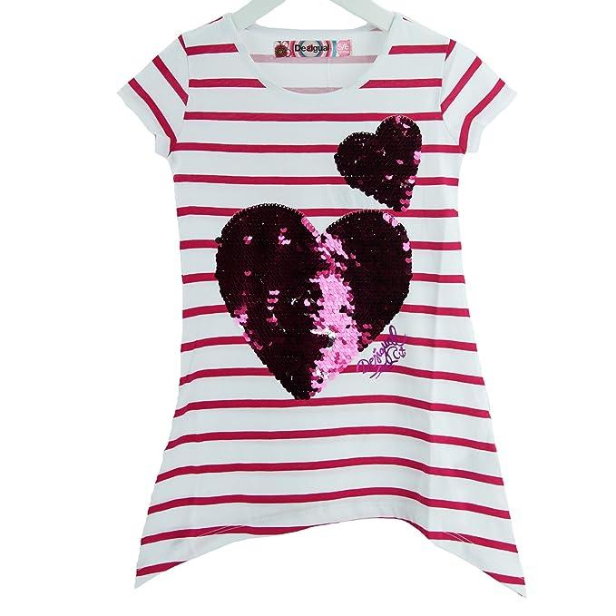 8 opinioni per Desigual- Ts_escocia, T-Shirt Bambina
