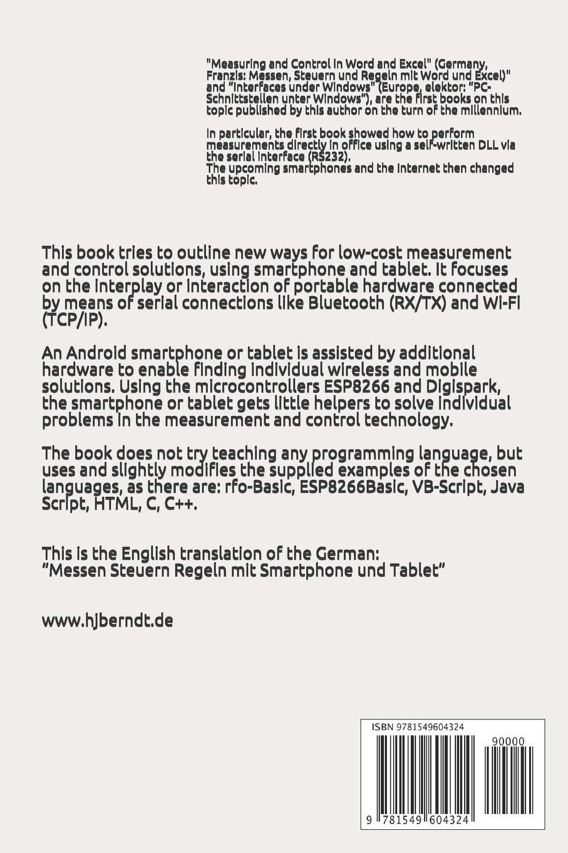 Measurement & Control using Smartphone & Tablet: Amazon.es: Berndt, Hans J.: Libros en idiomas extranjeros
