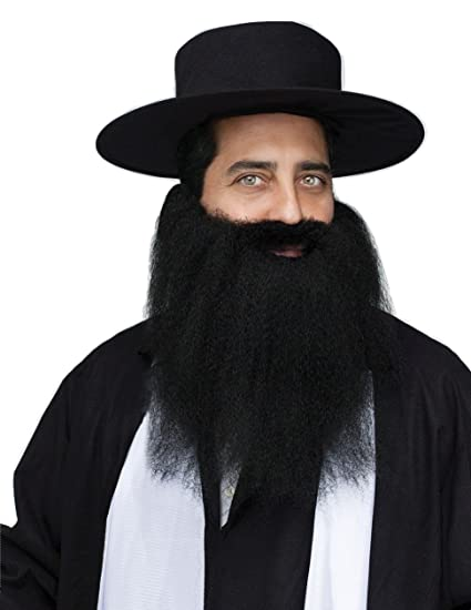 d86ce279f5b Amazon.com  Fun World Pirate Rabbi Padre Crimped Beard Moustache Mustache  Costume Accessory  Clothing