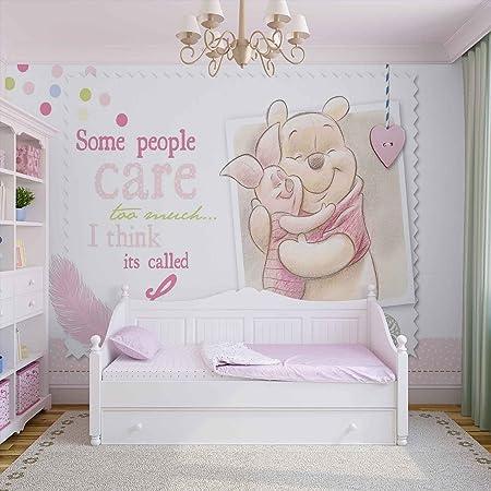 Disney Winnie Pooh Piglet - Photo Wallpaper - Wall Mural - Giant Wall  Poster - XL - 254cm x 184cm - Standard Paper (NOT EasyInstall) - 2 Pieces