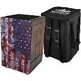 Echoslap Vintage Crate Cajon -Vintage American Flag