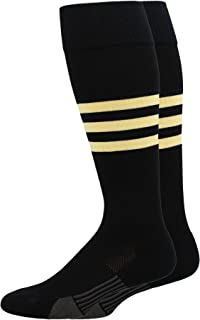 product image for Dugout 3 Stripe Baseball Socks Over the Calf Length Pattern B