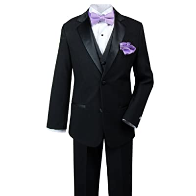 c5dd79aa4603 Spring Notion Baby Boys  Tuxedo Set with Bow Tie and Handkerchief ...