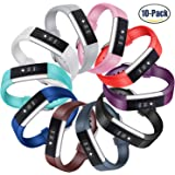 Fitbit Alta HR and Alta Bands, Konikit Soft Accessory Replacement Wristband with Secure Metal Buckle Clasp for Fitbit Alta and Alta HR