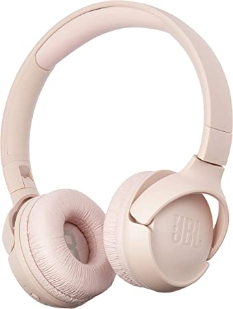 Amazon Com Jbl Tune 500bt Wireless On Ear Bluetooth Headphones With Microphone Wireless Headset Up To 16 Hour Battery Works With Android And Apple Ios Pink Electronics
