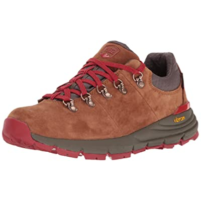 """Danner Women's Mountain 600 Low 3"""" Brown/Red Hiking Boot   Hiking Boots"""