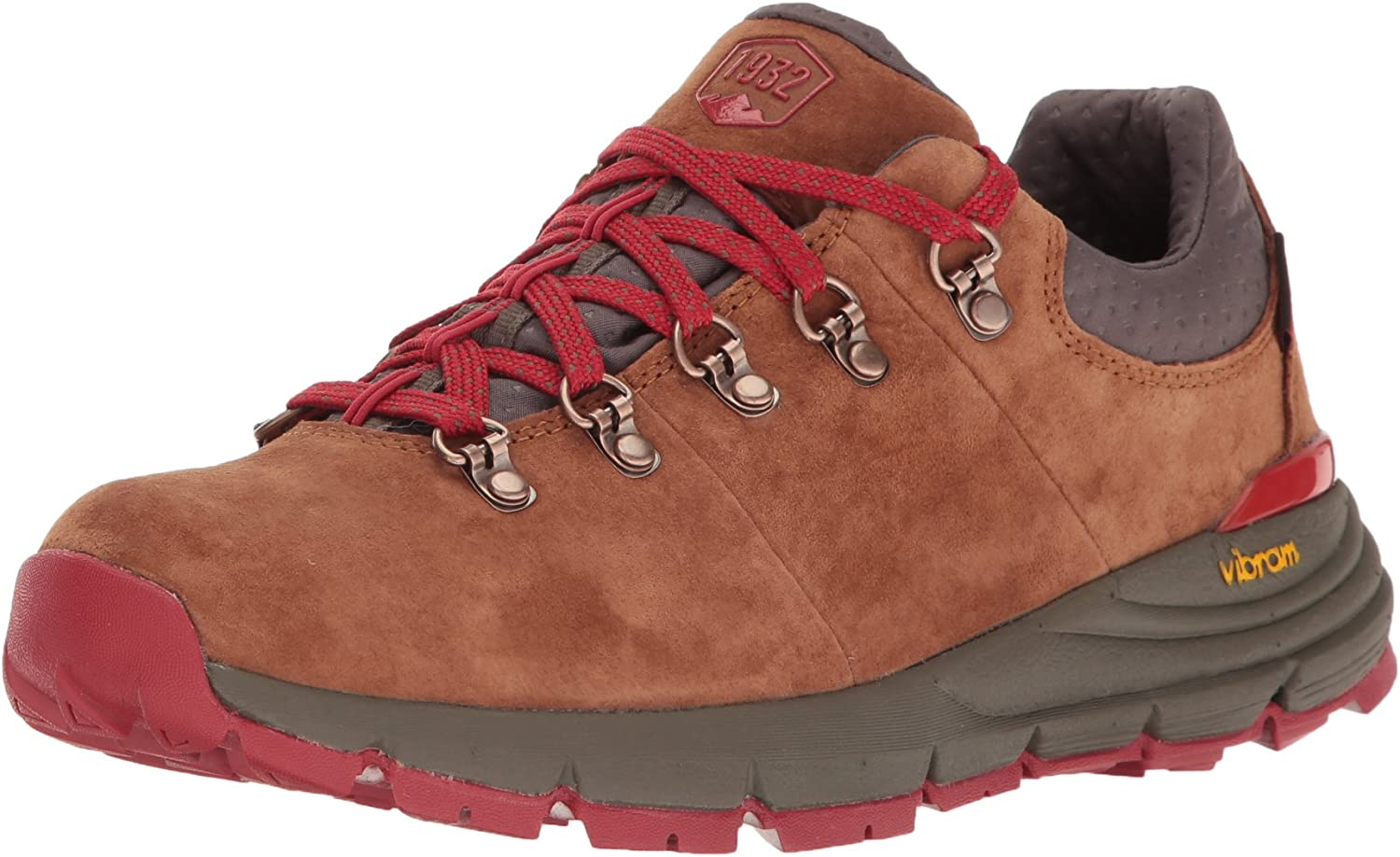 Danner Women s Mountain 600 Low 3 Brown Red Hiking Boot