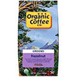 The Organic Coffee Co., Hazelnut Ground, 12 Ounce, USDA Organic, Flavored