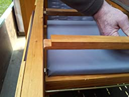 homelux strandkorb deluxe polyrattan sylt. Black Bedroom Furniture Sets. Home Design Ideas