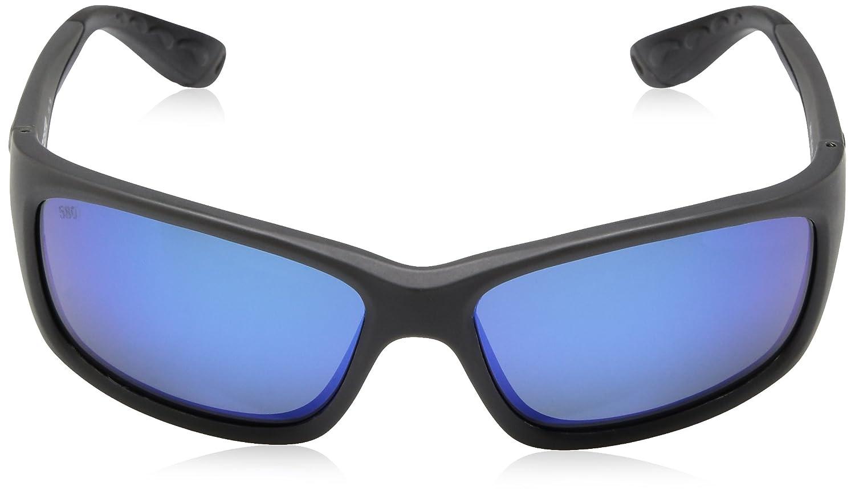 Direct JO98OBMGLP Costa Del Mar Mens Jose Sunglasses Matte Gray Blue Mirror 580 Glass Lens Pro-Motion Distributing