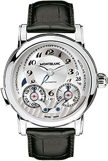 21225bd7774 Amazon.com  Montblanc Men s 102337 Nicolas Rieussec Chronograph ...