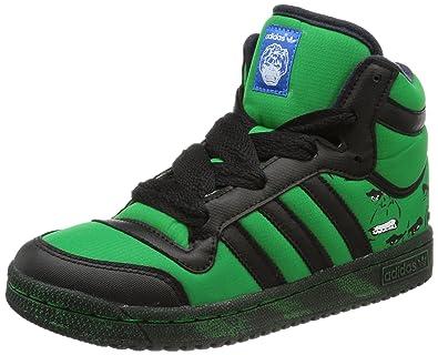 Garçon Ten Adidas Top Grün Originals HulkHi Sneakers Vert 76gbfy