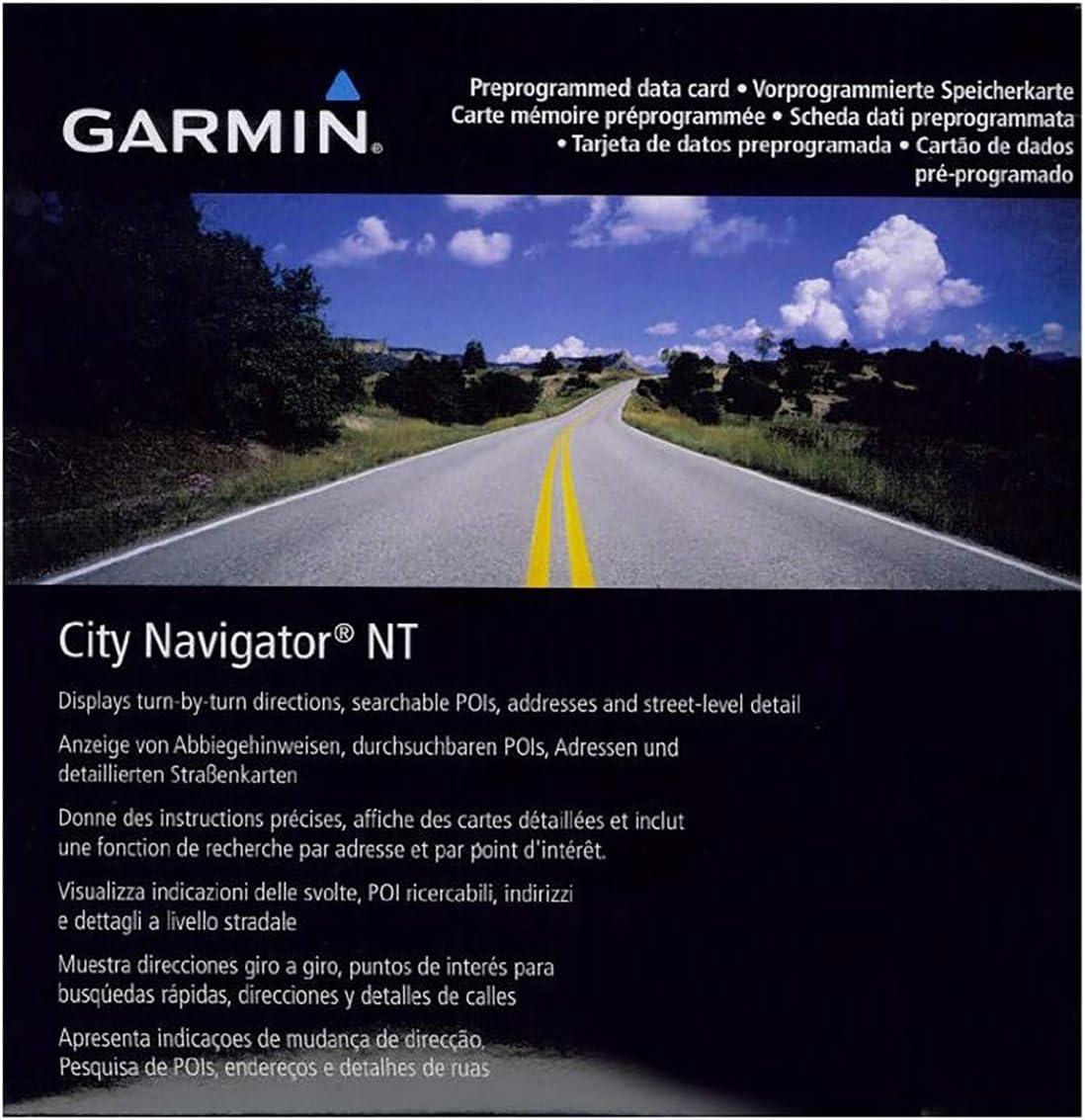 Garmin Map City Navigator Egypt NT SD microSD card