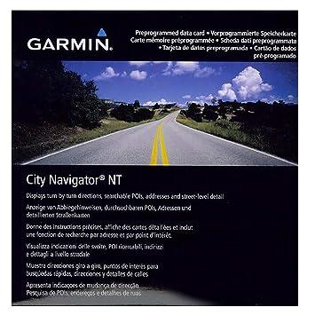Garmin Map City Navigator Egypt NT (SD/microSD card)