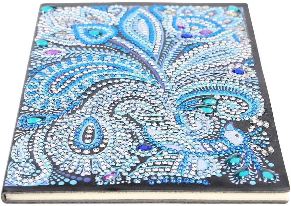 5D DIY Mandala Special Shaped Diamond Painting Drill Crystal Notebook Notepad UK