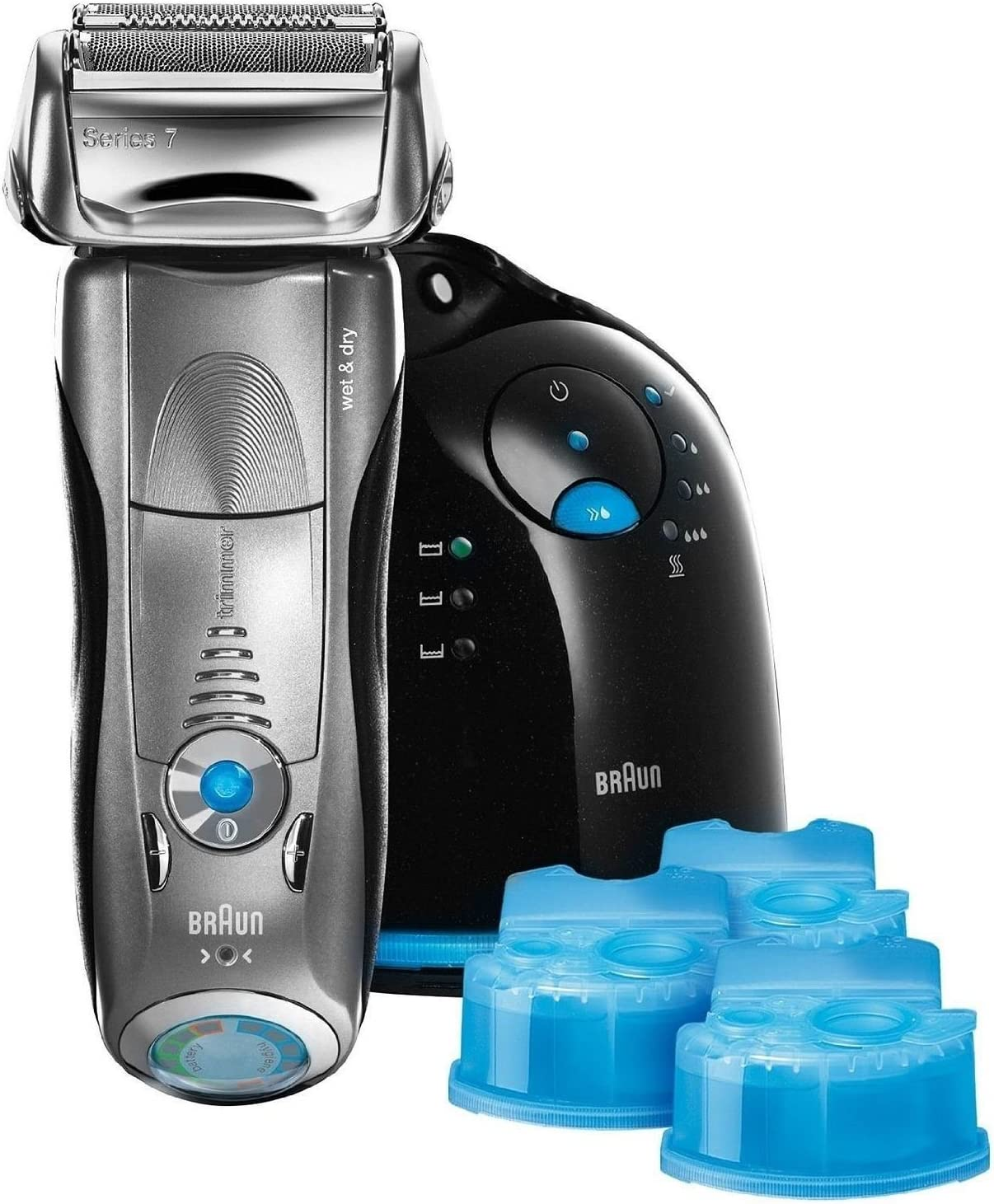 Braun Series 7 799cc-6 Wet & Dry Shaver System Replaces 790cc (Special Edition)