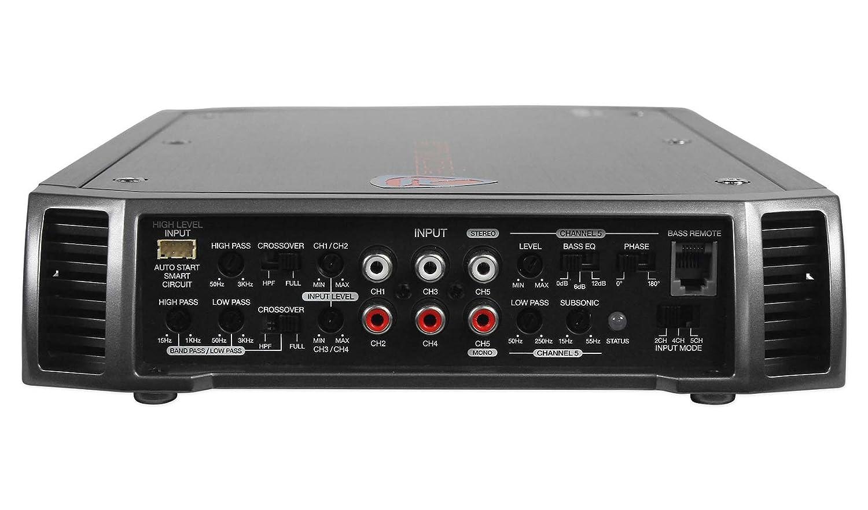 Rockville rxh-f5 3200 W Peak/1600 W RMS amplificador de 5 canales estéreo de coche Amp: Amazon.es: Electrónica
