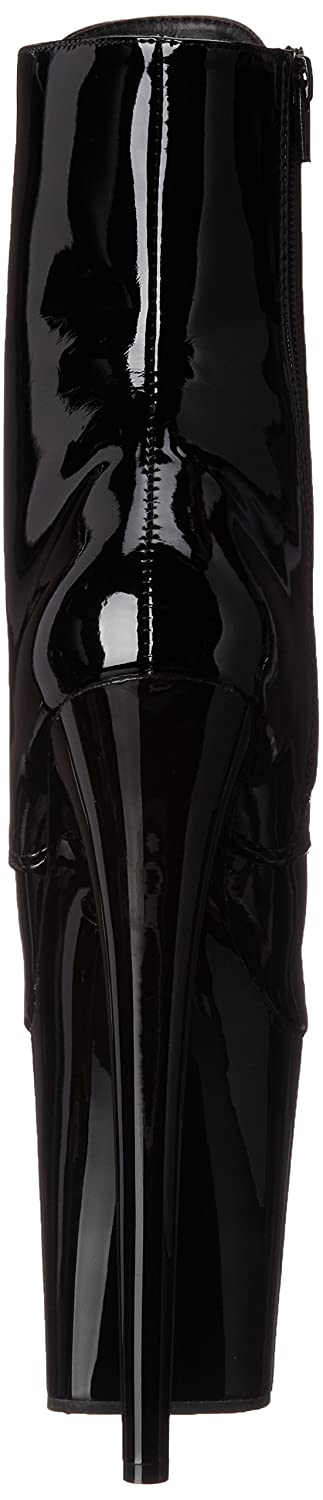 Pleaser Women's B(M) FLAM1020/B/M Boot B014J0HVE4 7 B(M) Women's US|Black Patent/Black 0db301