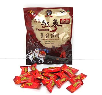Amazon.com : Korean Red Ginseng Jelly 200g / refreshing / ginseng extract and powder / Korean Made : Beauty