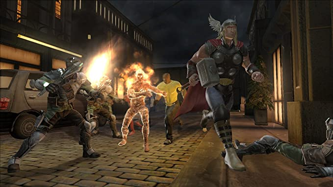 Marvel: Ultimate Alliance 2: Amazon in: Video Games
