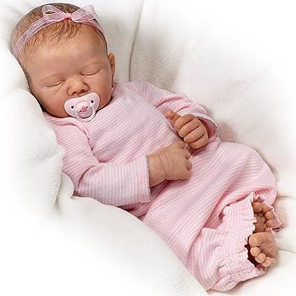 Amazoncom Baby Doll Rock A Bye Baby Doll By Ashton Drake Toys