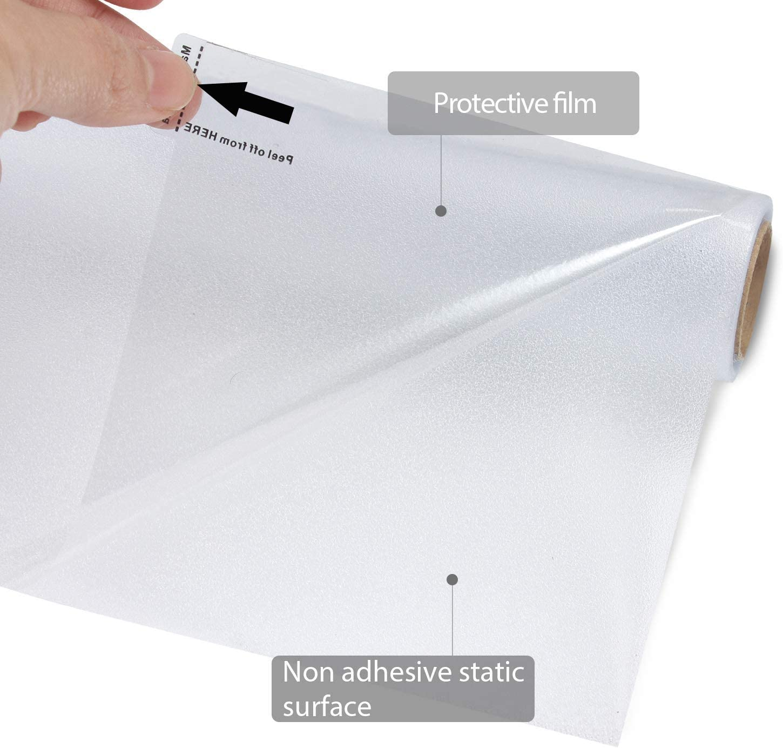 Zindoo Fensterfolie Sichtschutzfolie Ohne Kleber Statisch Folie