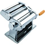 OxGord Stainless Steel Fresh Pasta Maker Roller Machine for Spaghetti Noodle Fettuccine