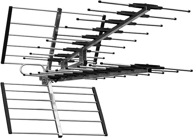 Typhoon - Antena de televisión Digital de Alta Ganancia (4 G/LTE Lista para Ver o freevie HD